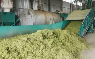 Производство витаминной травяной муки и травяных гранул