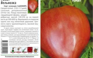 Сортовые особенности томата Вельможа