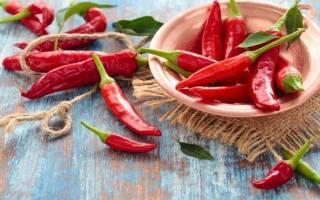 Перец чили: вред и польза красного острого продукта