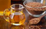 Льняное масло утром натощак: как пить, польза и лечебные свойства